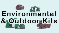 Click to view school science kits tha focus on environmental and outdoor water experiments and testing.